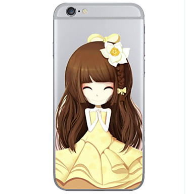 Voor iPhone 6 hoesje / iPhone 6 Plus hoesje Transparant / Patroon hoesje Achterkantje hoesje Cartoon Hard TPUiPhone 6s Plus/6 Plus /
