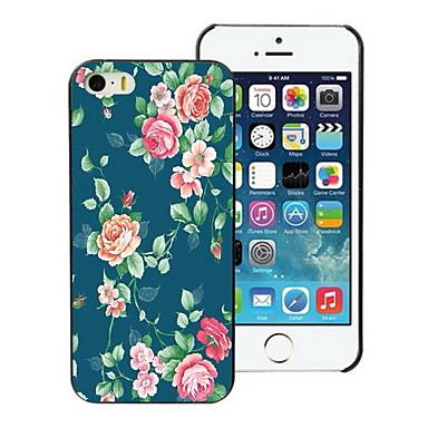 Voor iPhone 5 hoesje Patroon hoesje Achterkantje hoesje Bloem Hard PC iPhone SE/5s/5
