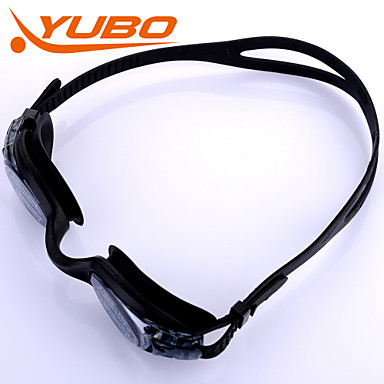 Zwembrillen Anti-condens Verstelbare Maat Anti-UV Breekbestendig Anti-Slip Band waterdicht silica Gel PC Zwart Licht Grijs