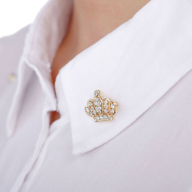 Full Diamond Brooch (1pair) festa de noiva estilo feminino elegante
