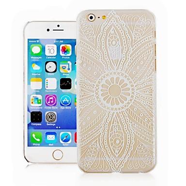 Voor iPhone 6 hoesje / iPhone 6 Plus hoesje Transparant / Patroon hoesje Achterkantje hoesje Bloem Hard PCiPhone 6s Plus/6 Plus / iPhone