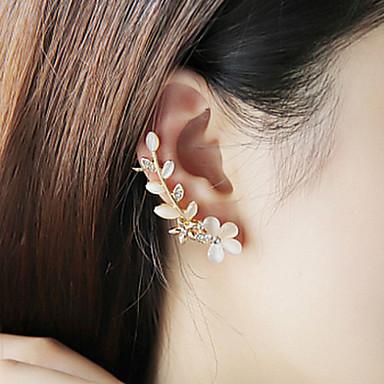 Γυναικεία Στρας Προσομειωμένο διαμάντι Χειροπέδες Ear - Πολυτέλεια Μοντέρνα Σκουλαρίκια Για Γάμου Πάρτι Καθημερινά Causal Αθλητικά