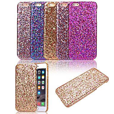 karzea ™ padrão bling do brilho de luxo brilho pu enfiar uma pele de volta caso capa para o iPhone 6 (cores sortidas)