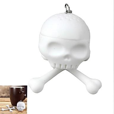 gel de sílica skull ferramenta chá filtro