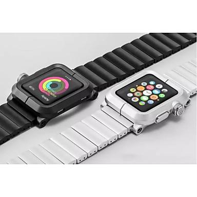Pulseira de liga de alumínio pulseira de relógio conector de metal para relógio de maçã 42 mm