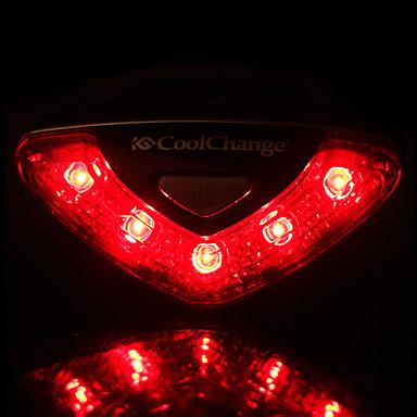 Luzes de Bicicleta luzes de segurança Luz Traseira Para Bicicleta Lâmpadas LED LED - Ciclismo Impermeável Fácil de Transportar AAA 50-100