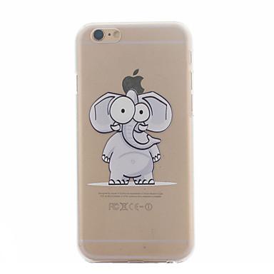 Για Θήκη iPhone 6 / Θήκη iPhone 6 Plus Εξαιρετικά λεπτή / Με σχέδια tok Πίσω Κάλυμμα tok Ελέφαντας Σκληρή PCiPhone 6s Plus/6 Plus /