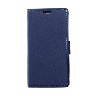 Capinha Para HTC Capinha HTC Porta-Cartão Carteira Com Suporte Flip Capa Proteção Completa Côr Sólida Rígida PU Leather para