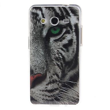 Para Samsung Galaxy Capinhas IMD Capinha Capa Traseira Capinha Animal TPU Samsung Core 2