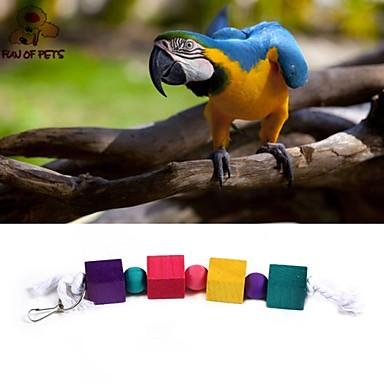 Vogel Vogelspeelgoed Kunststof Hout Meerkleurig