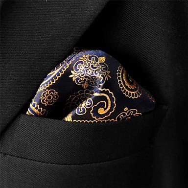 baratos Roupa de Homem Moderna-Homens Festa / Trabalho / Básico Gravata - Básico Estampa Colorida / Estampado Cashemere