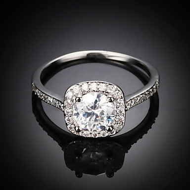 Γυναικεία Δακτύλιος Δήλωσης Ασημί Χρυσαφί Κράμα Μοντέρνα Γάμου Πάρτι Καθημερινά Causal Κοστούμια Κοσμήματα
