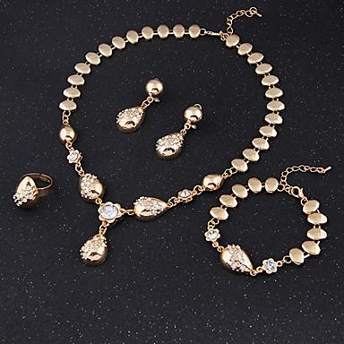 Dames Sieraden Set Cuff armband Vintage Schattig Feest Informeel Schakels/ketting Modieus Opvallende sieraden leuke Style Feest Speciale