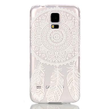Για Samsung Galaxy Θήκη Διαφανής tok Πίσω Κάλυμμα tok Ονειροπαγίδα PC Samsung S5