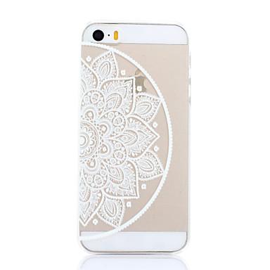 Για Θήκη iPhone 5 Εξαιρετικά λεπτή / Διαφανής / Με σχέδια tok Πίσω Κάλυμμα tok Μάνταλα Σκληρή PC iPhone SE/5s/5