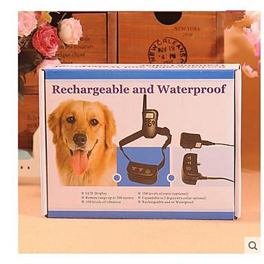 رخيصةأون مستلزمات وأغراض العناية بالكلاب-ذيل صغير شحن ماء توقف بعيد نباح الياقات صدمة sdjustable للكلب كلب ضخم