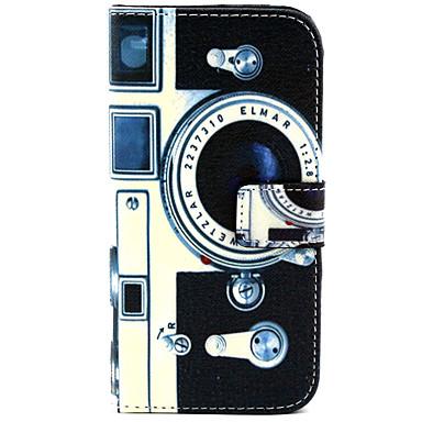 Voor Samsung Galaxy hoesje Kaarthouder / Portemonnee / met standaard / Flip hoesje Volledige behuizing hoesje Cartoon PU-leer SamsungS6