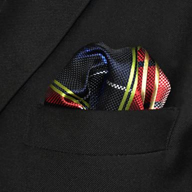 economico Abbigliamento uomo-Per uomo Basic, Da serata / Essenziale Cravatta Monocolore / A quadri