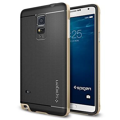 Недорогие Чехлы и кейсы для Galaxy Note 3-Кейс для Назначение SSamsung Galaxy Note 5 Edge / Note 5 / Note 4 Покрытие Кейс на заднюю панель Геометрический рисунок ТПУ