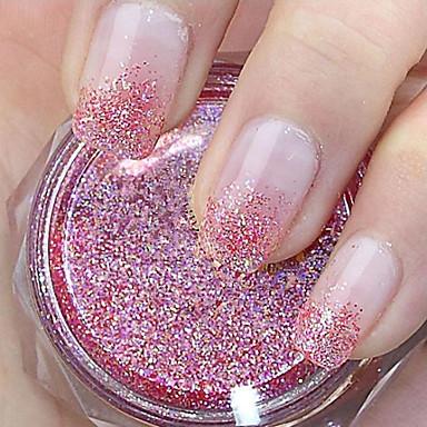 1 Glitter & Poudre Pó Abstracto Clássico Alta qualidade Diário
