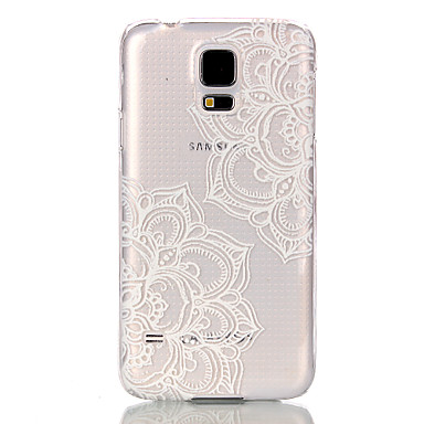 Para Samsung Galaxy Capinhas Transparente Capinha Capa Traseira Capinha Mandala PC Samsung S5