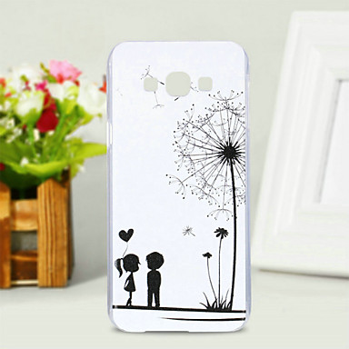 Case For Samsung Galaxy Samsung Galaxy Case Pattern Back Cover Dandelion PC for A8 / A7 / A5