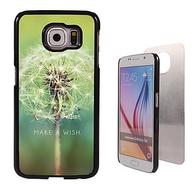 Για Samsung Galaxy Θήκη Θήκες Καλύμματα Με σχέδια Πίσω Κάλυμμα tok Ραδίκι PC για Samsung S6