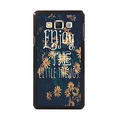 Para Samsung Galaxy Capinhas Case Tampa Estampada Capa Traseira Capinha Palavra / Frase PC para Samsung A8 A7 A5 A3