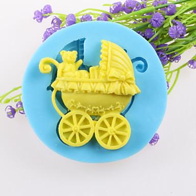 teddybeer mand fondant cake chocolade siliconen mallen, decoratie gereedschap bakvormen