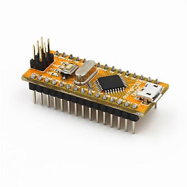 nova versão melhorada módulo nano v3.0 ATmega328P-au para arduino - amarelo