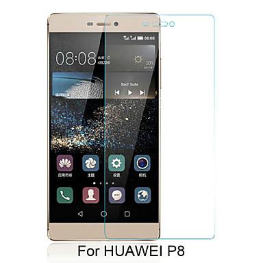beittal® 0.26mm afgeronde rand transparant 9h gehard glas membraan screen protector voor Huawei Ascend p8 (5.2inch)