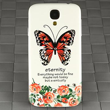 broca e subiu padrão borboleta pc volta caso capa para Samsung Galaxy S4 / 9500