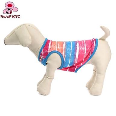 Kat Hond T-shirt Hondenkleding Casual/Dagelijks Band Groen Roze