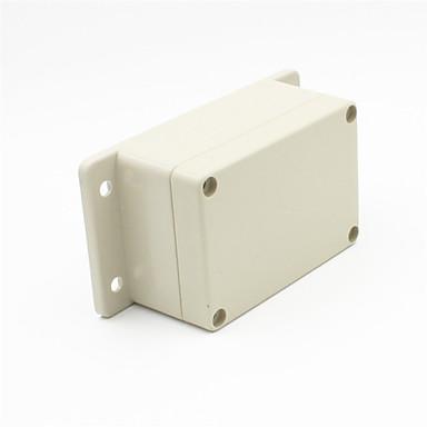diy plastic waterdichte instrument / kleine security voeding hoes - grijs (F4B)