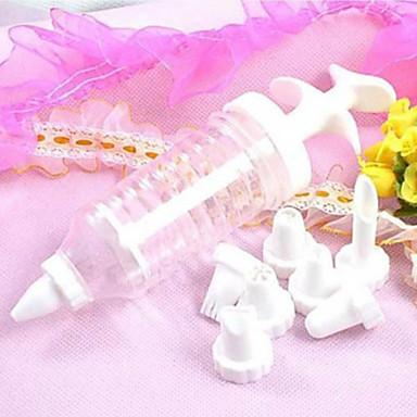 cream tube decoratie mond decoratie gereedschappen rookwolken (1 set)