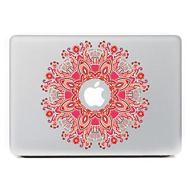 ronde bloem 9 decoratieve skin sticker voor MacBook Air / Pro / Pro met Retina-display