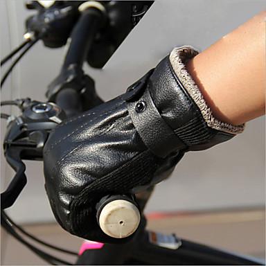 BOODUN® Activiteit/Sport Handschoenen Fietshandschoenen Vochtdoorlaatbaarheid Ademend Vermindert schuren Schokbestendig Lange Vinger Leder