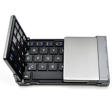 παλιά καρχαρία ™ πτυσσόμενο πληκτρολόγιο Bluetooth εξαιρετικά λεπτή θήκη ασύρματο πληκτρολόγιο για iOS Android tablet PC με Windows