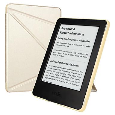 ΕΣΡ Yippee χρώμα σειρά πατενταρισμένη Tri-fold σχεδιασμό χωρίς αντανακλάσεις pu δέρμα μαγνητική έξυπνη θήκη για το Kindle 7ο Gen-χρυσό
