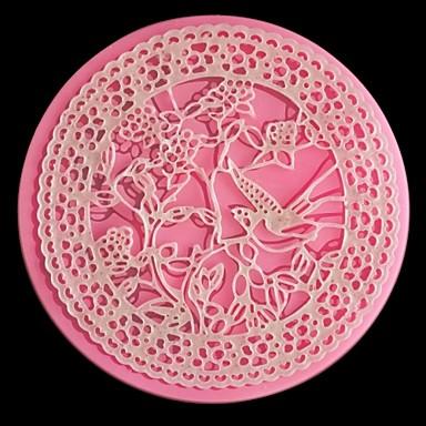 lace fondant schimmel taart decoratie mal