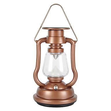 2 Lantaarns en tentlampen LED 42 lm 2 Modus - Waterbestendig Kamperen/wandelen/grotten verkennen Voor buiten Goud Zwart Blauw