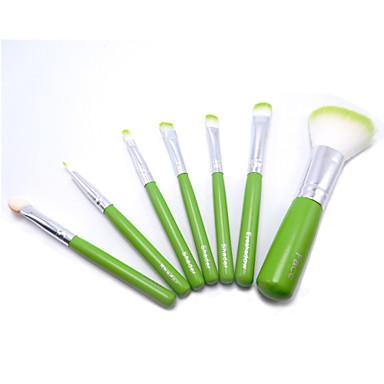6 Concealerkwast / Poederkwast / Aanbrengspons / Blushkwast / Oogschaduwkwast / Lippenkwast / Eyelinerkwast Synthetisch haarProfessioneel
