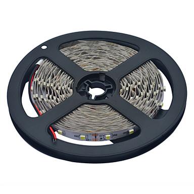 YouOKLight® 10 M 600 3528 SMD Meleg fehér / Fehér Cuttable / Összekapcsolható / Gépjárműbe / Öntapadós 50 W Fényfüzérek DC12 V