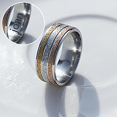 Gepersonaliseerde sieraden RVS - goud / zilver - Ringen -