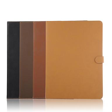 Capinha Para Com Suporte Capa Proteção Completa Côr Sólida PU Leather para iPad Pro 12.9''