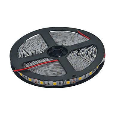유연한 LED 조명 스트립 300 LED 따뜻한 화이트 화이트 컷테이블 연결가능 DC 12V DC 12