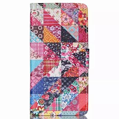 Para Capinha Huawei P8 Lite Case Tampa Carteira Porta-Cartão Com Suporte Flip Corpo Inteiro Capinha Flor Rígida Couro Ecológico para