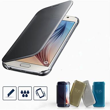 Capinha Para Samsung Galaxy Samsung Galaxy Capinhas Galvanizado Capa Proteção Completa Côr Sólida PC para S7 edge S7 S6 edge plus S6 edge