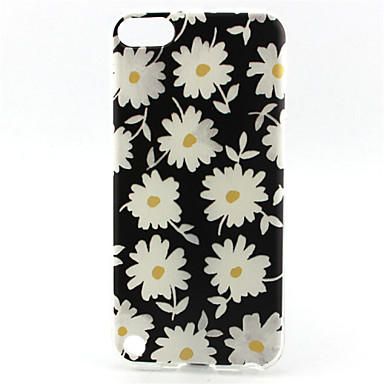 daisy painting pattern tpu soft voor ipod touch 5 ipod cases / covers
