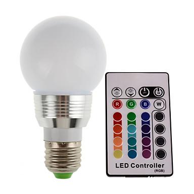 3W E26/E27 LED-podiumlampen 1 Krachtige LED 300-350 lm RGB 2700-7000(K) K Op afstand bedienbaar Decoratief AC 85-265 V